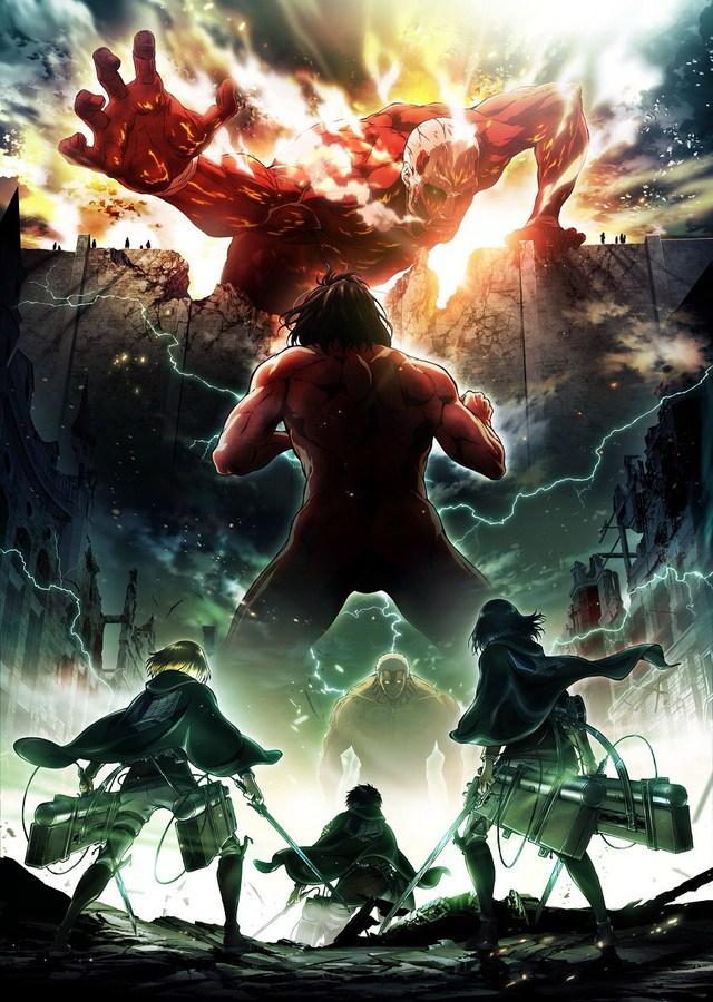 Attack on titan Season 2