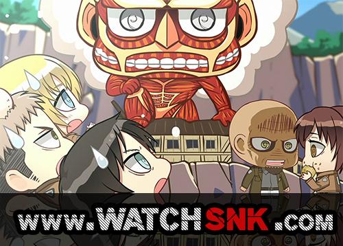 Shingeki! Kyojin Chuugakkou Episode 8 Subbed